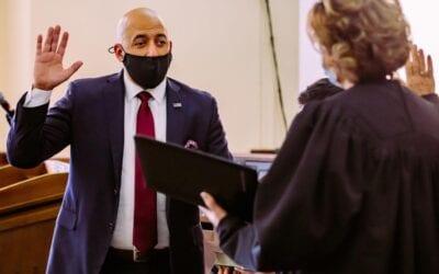 Cervantez Sworn in as Jackson County Top Prosecutor